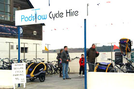 Padstow cycle hire