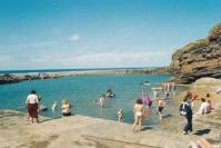 Bude- free beach swimming pool