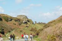 Tintagel - footpath to Castle and beach